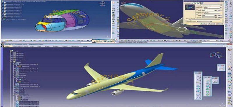 انجام پروژه نرم افزار کتیا CATIA : ترسیم سه بعدی بدنه هواپیمای مسافربری جت با استفاده از مدل سیمی (Wireframe) طراحی شده که در این دوره، سطوح خارجی کامل دو هواپیمای B737-900-ER و DC-9-32 با CATIA مدلسازی شده است.