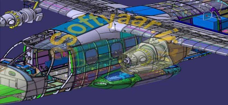 انجام پروژه نرم افزار کتیا CATIA : طراحی و ترسیم هندسی کلیه قطعات یک هواپیمای مسافربری توربو پراپ با لحاظ مراحل دقیق مونتاژ و مباحث PLM، PDM، KAM، KAD