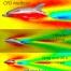 سطح آزاد دو فازی حجم سیال VOF