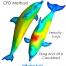 تحلیل هیدرودینامیک دلفین به روش دینامیک سیالات محاسباتی CFD با نرم افزار ANSYS CFX